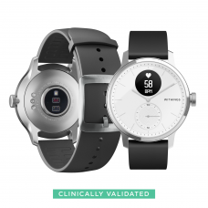 Withings Scanwatch Smart Watch 42mm (Color: White)