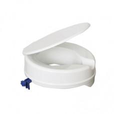 Senator ergonomically designed ABS plastic 4 raised toilet seat with lid