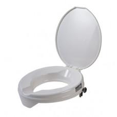Prima raised toilet seat with lid
