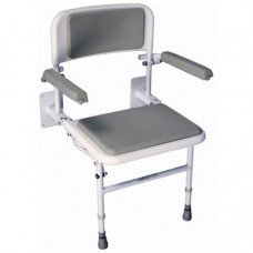 Solo Deluxe Shower Seat (With Padded Back & Seat)