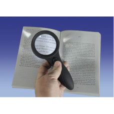 Deluxe Comfort Grip Magnifier with 6 LED Lights