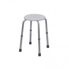 Round Adjustable Bath Stool