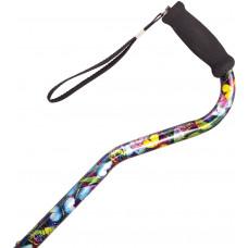 Adjustable Offset cane - Foam grip (Color Art)