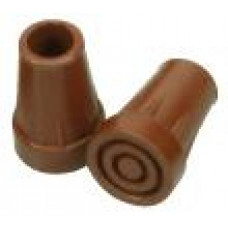 Rubber tip - Brown