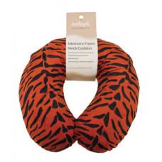 Memory Foam Neck Cushion (Design Brown Tiger)