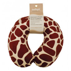 Memory Foam Neck Cushion (Design White Giraffe)