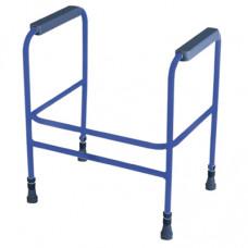 Ashford Height Adjustable Toliet Frame (Blue)