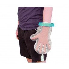 Waterproof Cast and Bandage Protector for use whilst Showering/Bathing - Adult Hand