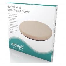 Revolving Swivel Seat with Fleece Cover