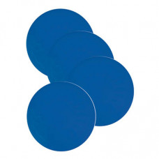 Non Slip Silicone Coaster - Blue - Pre-order