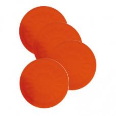 Non Slip Silicone Coaster - Red
