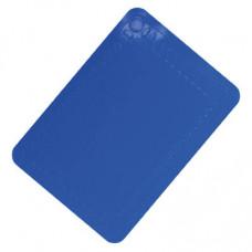 Anti-Slip Silicone Table Mat 25x18 cm (Colour Blue)