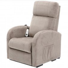 Daresbury Rise and Recline Chair Single Motor - Pebble - On Request