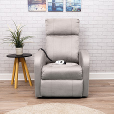 Daresbury Rise and Recline Chair Single Motor - Pebble Grey - On Request