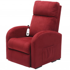 Daresbury Rise and Recline Chair Single Motor - Red - On Request