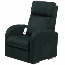 Daresbury Rise and Recline Chair Single Motor - Blue - On Request