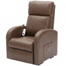 Daresbury Rise and Recline Chair Single Motor - Nutmeg - On Request