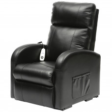 Daresbury Rise and Recline Chair Single Motor - Black - On Request