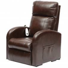 Daresbury Rise and Recline Chair Single Motor - Chestnut - On Request