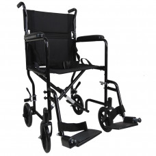 Aidapt Steel Compact Transit Chair (Black) - On Request