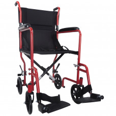 Aidapt Steel Compact Transit Chair (Red) - On Request