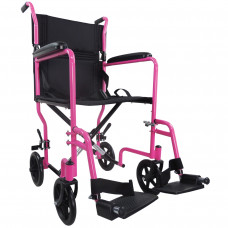 Aidapt Steel Compact Transit Chair (Pink) - On Request
