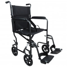 Aidapt Steel Compact Transit Chair (Hammered Effect) - On Request