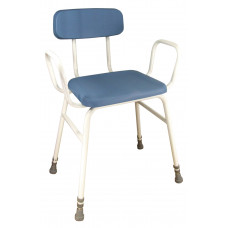 Astral Perching Stool (Configuration With Arms and Padded Back)