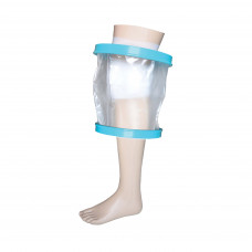 Waterproof Cast and Bandage Protector for use whilst Showering/Bathing - Adult Knee