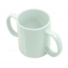 Two Handled Ceramic Mug