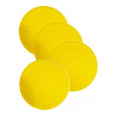 Non Slip Silicone Coaster - Yellow